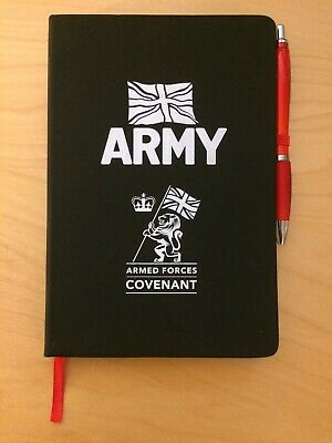 British Army Note book - Armed forces Covenant