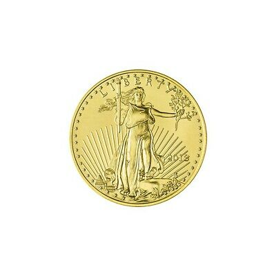 2018 1/10 oz Gold American Eagle in Air-Tite Mint BU US Mint Free Shipping