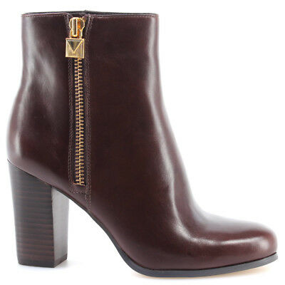 566152843d4 Scarpe Boots Tacco Donna MICHAEL KORS Margaret Bootie Leather 40F7MGHE6L  Nutmeg