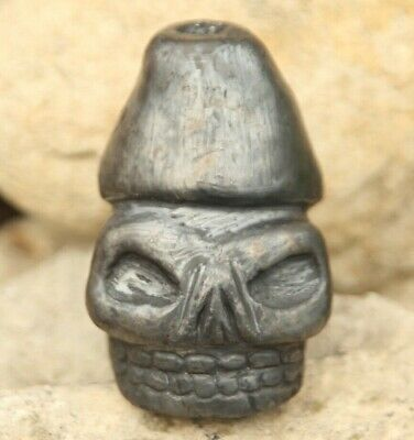 Aztec Death Whistle black clay produces most frightening sound