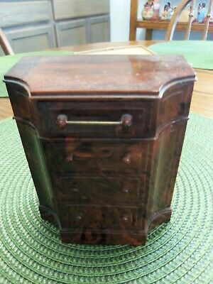 Dresser Bank by Park Sherman Ill. over 4 inches tall USA (14799)