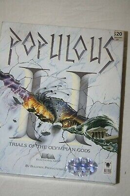 Pupulous Trials of the Olympian Gods PC Game Floppy discs