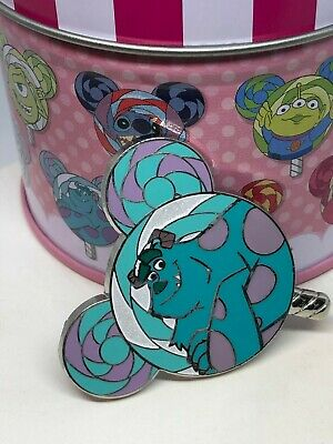 Hong Kong Disneyland HKDL Lollipop Mystery Pin Sully