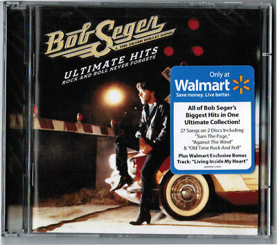 BOB SEGER / Ultimate Hits: Rock & Roll Never Forgets [2 CDs, 2011] NEW! WALMART