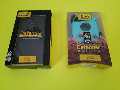 New OtterBox Defender Case For Apple iPhone 7 & iPhone 8 +Clip +FAST Shipping