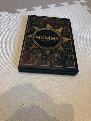 The Mummy trilogy dvd set - Scorpion King too with The Rock - FREE shipping