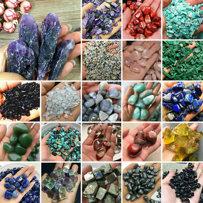 100g Colorful Natural Quartz Crystal Assorted Bulk Tumbled Gem Stone Healing Lot