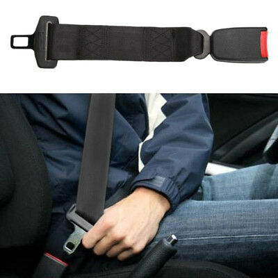 """14"""" Heavy Duty Car Vehicle Seat Belt Extension Extender Strap Safety 7/8"""" Buckle"""