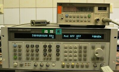 HP 8665B 100 kHz-6 GHz Signal Generator opt 004 Low Phase Noise