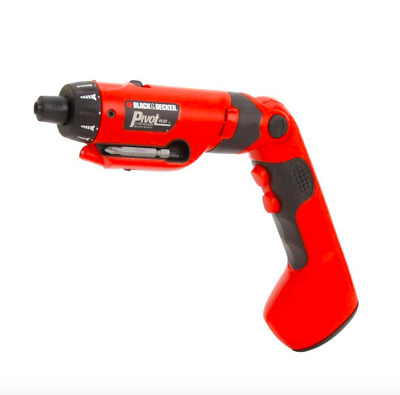 BLACK+DECKER Cordless Rechargeable Drill Driver Charger Battery Drilling Tool