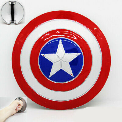 """MINI 4"""" 1:6 Captain America Shield Metal Color The Avengers Cosplay Costume Prop"""