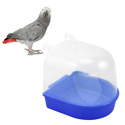 14 × 15 × 15 Cm Bird Supplies Bird Bathtub Bath Clean Box Toy For Budgies Canary Cage Trixie