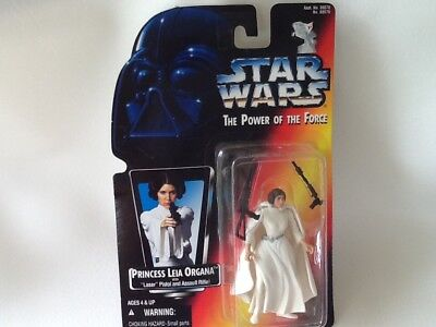 Carrie Fisher Star Wars Princess Leia Organa Action Figure New 1995