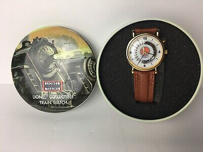 Lionel Collectible Train Watch In Tin