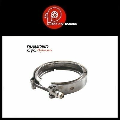 Diamond Eye VC400HX40 - V-Band Exhaust Clamp for HX40 Turbo Direct Pipe