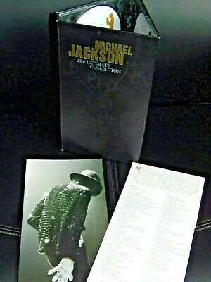 Michael Jackson - The ultimate Collection - 4 CDs + DVD Longbox Limited Edition