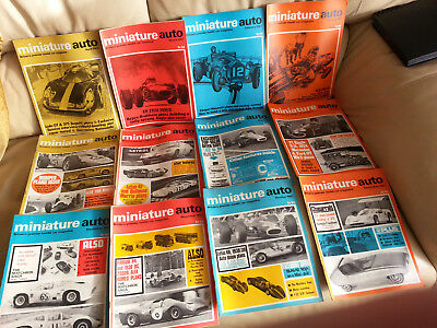 Original Miniature Auto mags 1967 slot cars choose one you want 12 availible