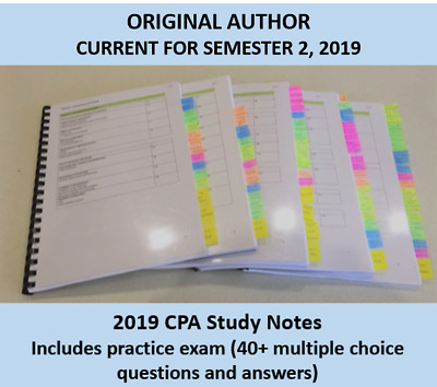 CPA Ethics and Governance HD study notes 2019