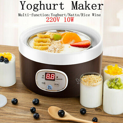 Yaourtière Mini 10W complet automatique Natto riz yaourt vin intelligent Machine