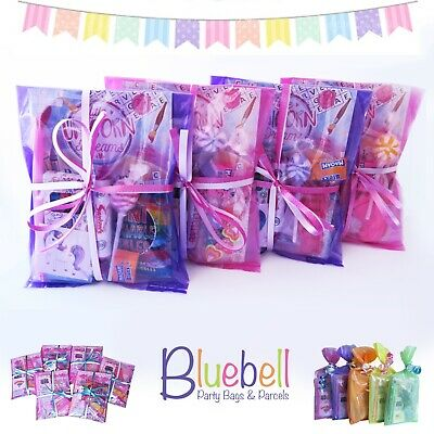 Girls Unicorn Pre Filled Party Bags Parcels Children's Ready Made Birthday