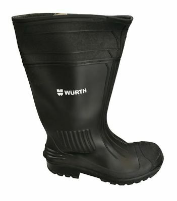 Würth Work Boots Rubber Boots Rokon Black S5 Size 46