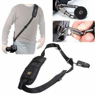 QUICK STRAP Camera Single Shoulder Belt Sling SLR DSLR Cameras Canon Sony NikonA