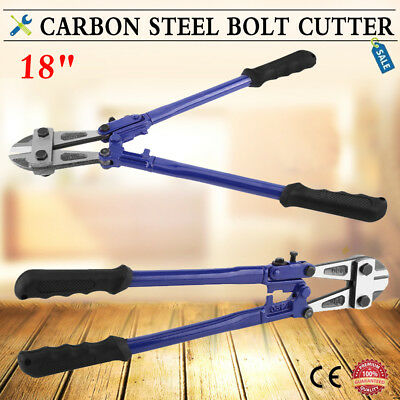 """Heavy Duty Carbon Steel Wire Cable Bolt Cutters 18"""" Croppers Cut Padlock"""