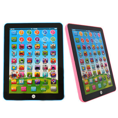 Pad For Children Kid Learning English Educational Computer Mini Tablet Toy