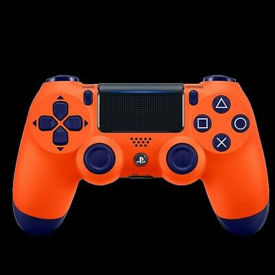 U Sony Official Dualshock 4 Controller (Sunset Orange ) (PS4) Brand New & Sealed