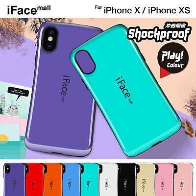 iPhone X XS iFace Mall Shockproof Heavy Duty Case Hybrid Hard Cover For Apple