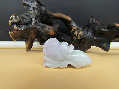 Chinese Hand-carved aristocratic wearing Jadeite jade pendant Chinese cabbage 白菜