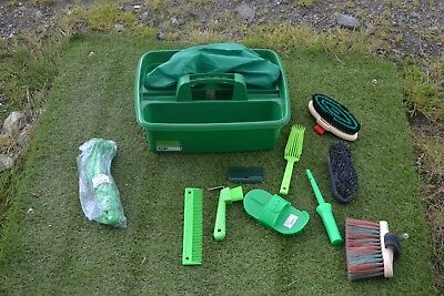 Green Grooming Kit Tray And Kit-Haynet-Grooming Items - Tray Cover  New