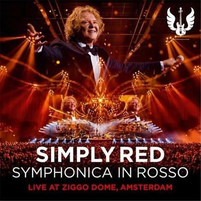 Simply Red Symphonica in Rosso DIGIPAK CD & DVD All Regions NTSC NEW