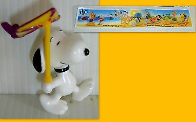 Kinder Giappone -Snoopy Con L'aquilone + Cartina (Bpz)