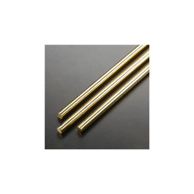 KandS 5/32 DIA Solid Brass Rod 1163 Brand New
