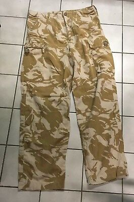 British Army Issue Desert DP S95  Lightweight Combat Trousers