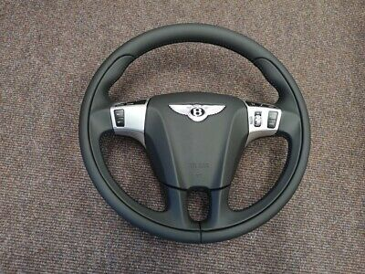 Bentley Continental GT,GTC and Flying Spur 3 spoke steering wheel upgrade.