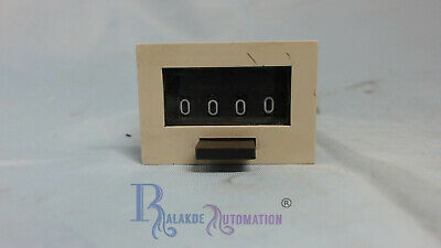 Line Seiki magnetic counter MCF-4X 4Dig. Push Button Reset