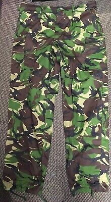 British Army Issue Woodland DPM S95  Lightweight Combat Trousers Various Sizes