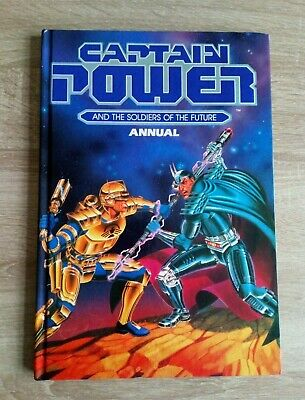 Captain Power And The Soldiers Of The Future Vintage SciFi TV Annual Hardback