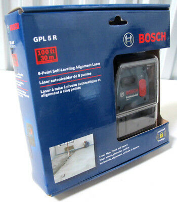 Bosch 5-Point Self-Leveling Alignment Laser GPL5R