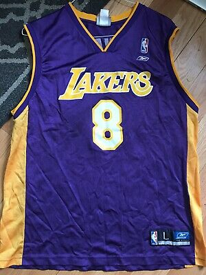 a95d7f8d4b7 Kobe Bryant Los Angeles Lakers Number 8 Authentic Reebok NBA Jersey size 48