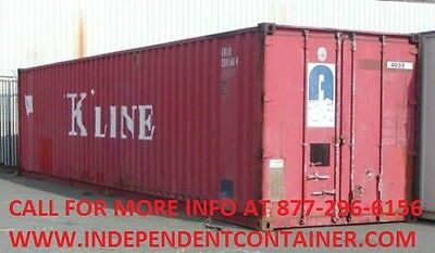 40' Cargo Container / Shipping Container / Storage Container in Atlanta GA