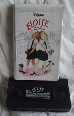 Eloise At Christmastime Vhs.Dvd Eloise At The Plaza Disney Sofia Vassilieva In