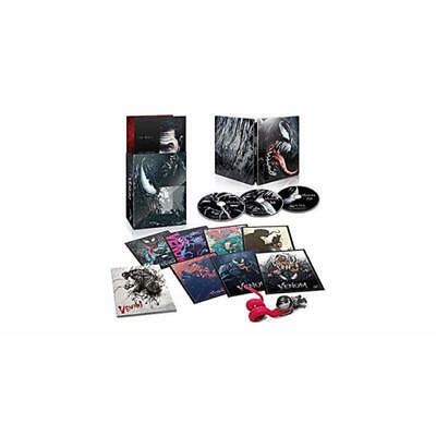 Amazon Limited Venom Japan Limited Premium Steel Book Edition