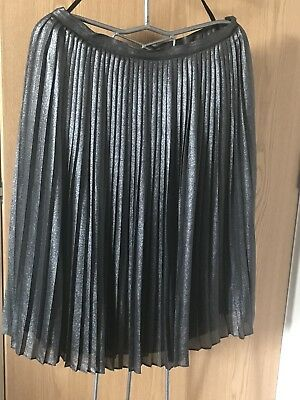 7eb2e22fb LADIES WOMENS OASIS Black Pleated Skirt size 14 - $1.97 | PicClick