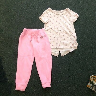 Pink Heart Outfit, Next, Age 3 Years