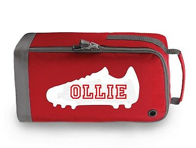 Personalised Childrens Football Rugby Boot Bag Kids Sports Pe Kit Gift Bg540