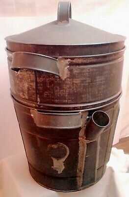 Primitive Peerless Cooker Company Steamer Copper Bottom 1800's Era Antique