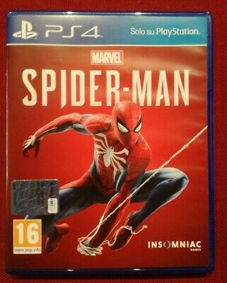 Marvel's Spider-Man PS4 PlayStation4 & ProCome nuovo!